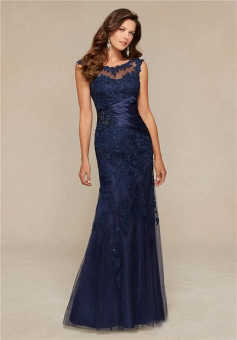 boat neck dress navy mermaid boat neck navy blue tulle lace beaded special