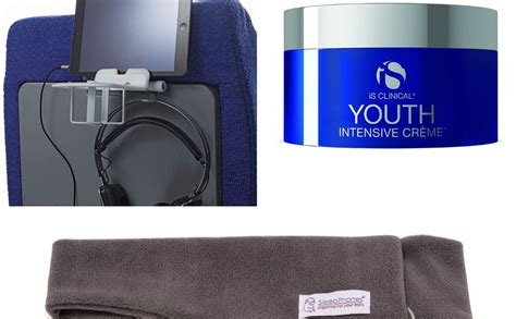 Airplane Comfort Items by Global Cocktails