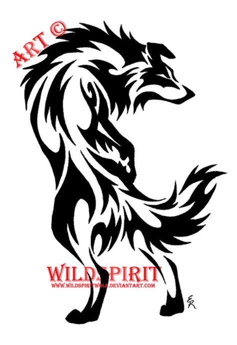 tribal border collie tattoo tribal tattoo flash designs