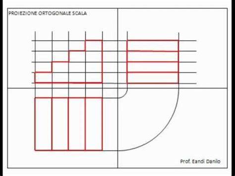 proiezione ortogonale sedia proiezione ortogonale di una scala