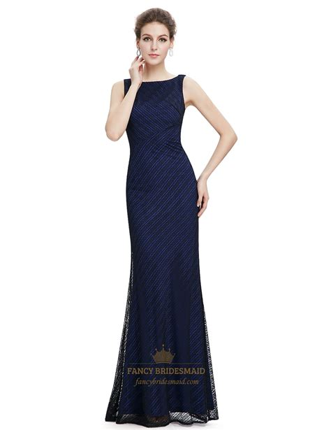 Navy Bridesmaid Dress by Navy Blue Lace Mermaid Bridesmaid Dress Fancy