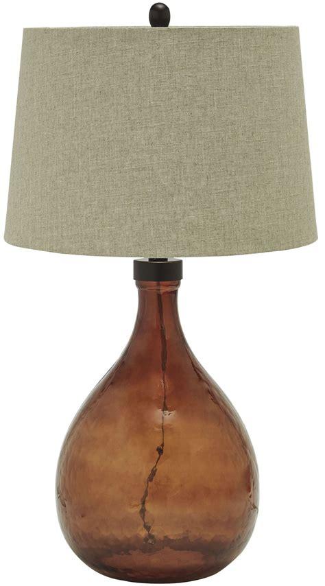 Arayna Brown Glass Table L L430344