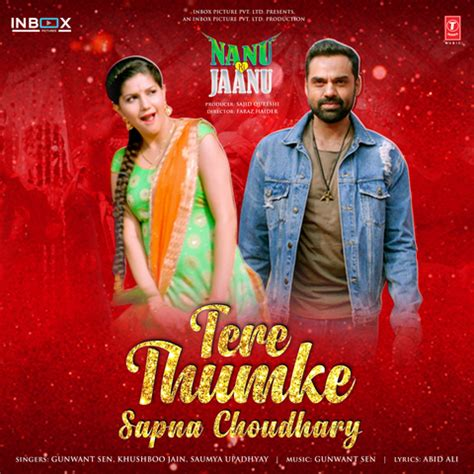 sapna choudhary music song tere thumke sapna choudhary mp3 song download nanu ki