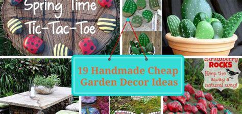 Garden Decorations Cheap by Cheap Diy Garden Decor Tutorials