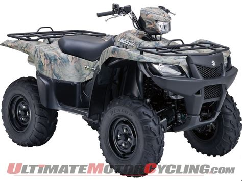 Suzuki King 750 Performance Upgrades 2011 Suzuki Kingquad 750axi Preview