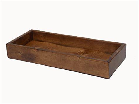 dresser top vanity tray rustic solid pine bathroom vanity tank top tray rustic
