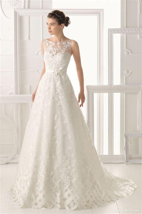 aire barcelona vintage 2014 bridal collection