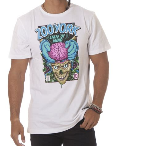T Shirt Pria Zoo York camiseta zoo york mind transplant wh buy