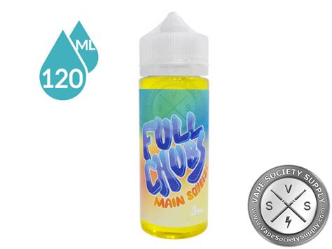 Liquid Squeeze Jam Sour Apple Liquid squeeze by chubs ejuice 120ml