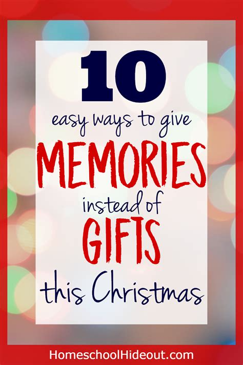 what to do for christmas instead of gifts christmas decore