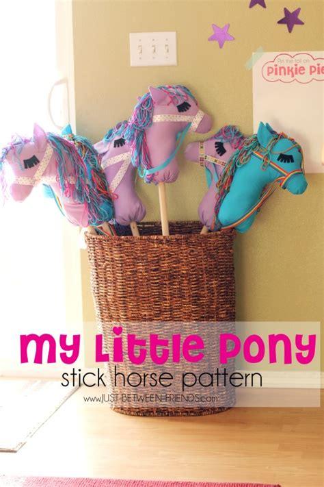 diy stick pony diy stick horses free pattern just between friends