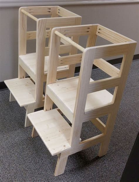 Kitchen Helper Step Stool Plans by 25 Best Ideas About Learning Tower On