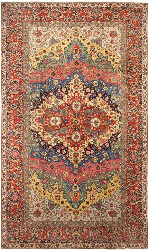 rug pull antique tabriz rug it s to go wrong when you pull your color scheme from a gorgeous