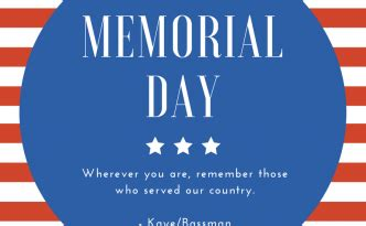 Memorial Day Honors Those Who Died In Service To Our Country by Kaye Bassman Academic Medicine Archive
