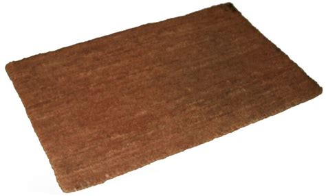 Large Coir Doormat by Various Sizes Plain Large Coco Coir Mat 25mm Thick