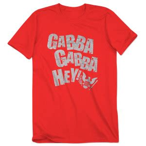 gabba hey store clothing shop the joey ramone official store