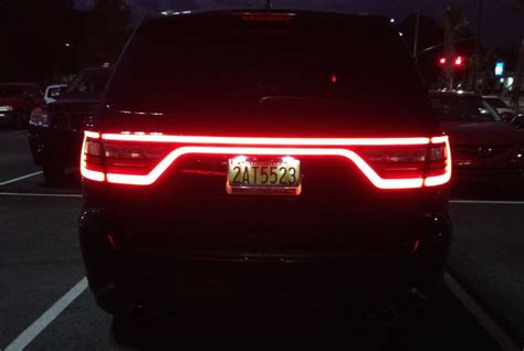 2011 dodge durango led tail lights tail light swap
