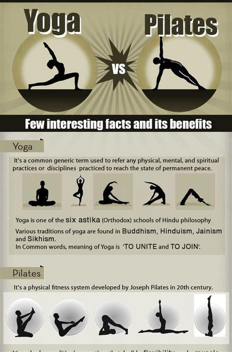 imagenes yoga y pilates la diferencia entre yoga y pilates en infograf 237 a