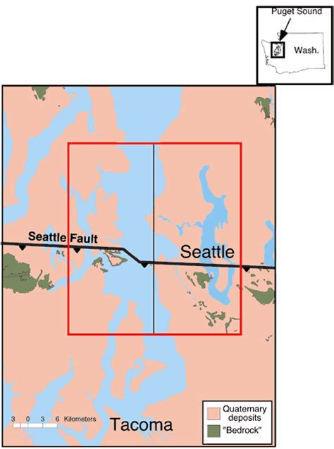 seattle geologic map figure 1 open file report 00 0339 simulation of a m6 5