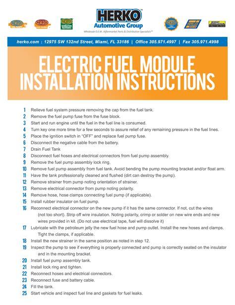 herko fuel wiring diagram 30 wiring diagram images