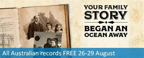 Free Genealogy Records 70 Million Australian Records Free To Search For Four Days Genealogy History News