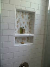 bathroom shower niche ideas renovations and remodel secondary bath before and after