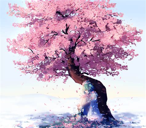 cherry bloosom tree the cherry blossom tree by lluluchwan on deviantart