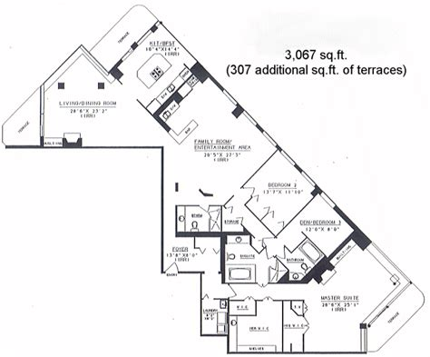 55 harbour square floor plans harbour terrace harbourfront harbour terrace floorplans