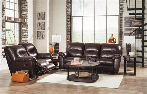 faux leather reclining sofa faux leather contemporary reclining sofa by signature