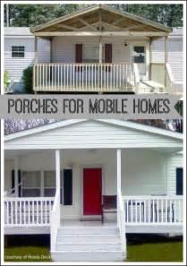 porch designs for mobile homes mobile home porches