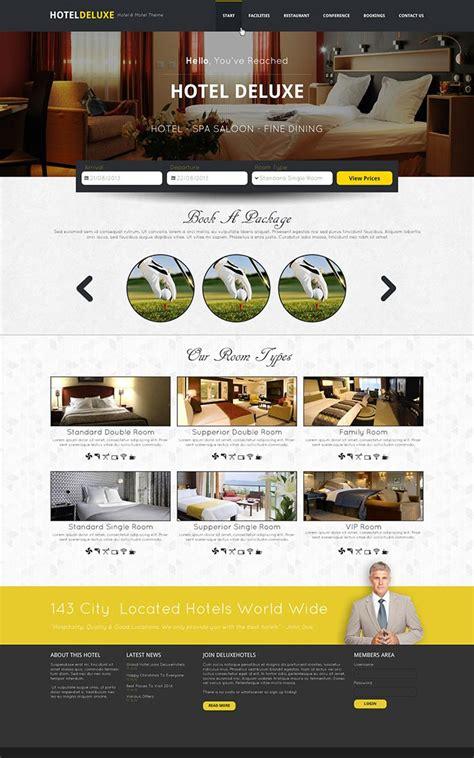 free download unijoy layout шаблон лендинга отеля more psd