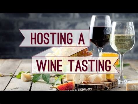 how to host the wine tasting