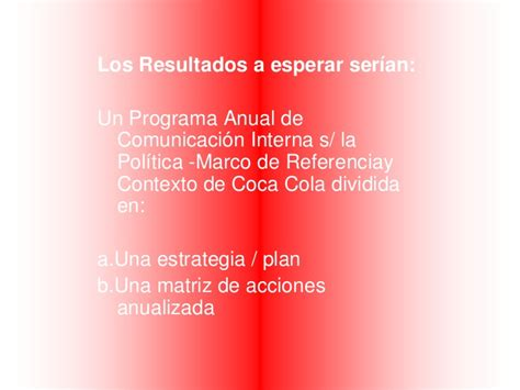 informe anual de la empresa coca cola coca cola