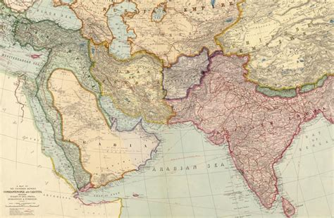 middle east map before 1900 maps of middle east