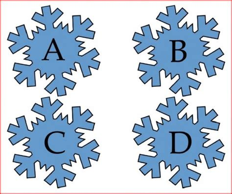 up letter with snow freebie friday snowflake gross motor learning