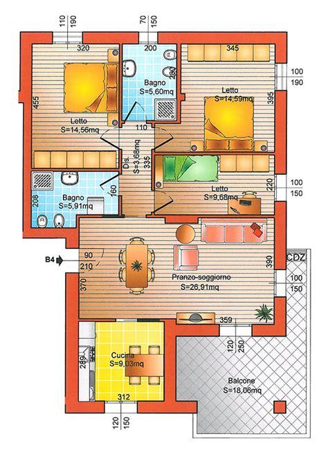 planimetria di un appartamento planimetria casa 80 mq es53 187 regardsdefemmes