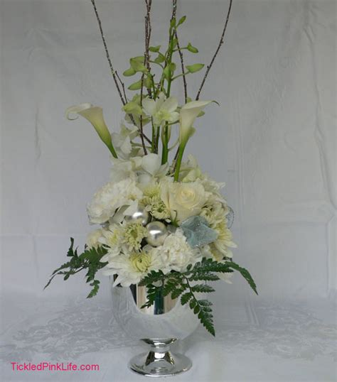 ten steps an elegant winter floral arrangement