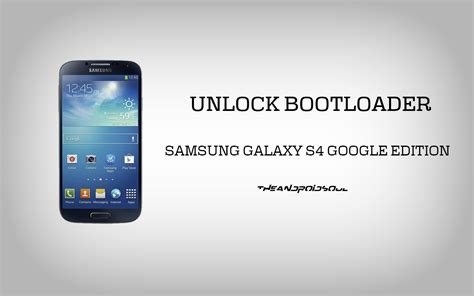 unlock android how to unlock samsung galaxy s4 edition gt i9505 bootloader the android soul