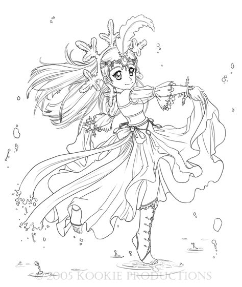 deviantart coloring pages lil miss snow coloring page by nijuuni on deviantart