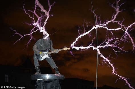 Tesla Coil Rock Band A Truly Shocking Performance Rock Plays