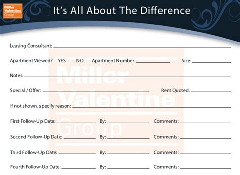 guest card template apartments guest card
