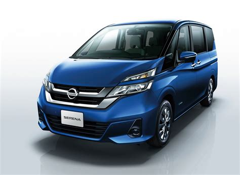 Nissan Serena Gets A New Look Features Autonomous Drive Tech