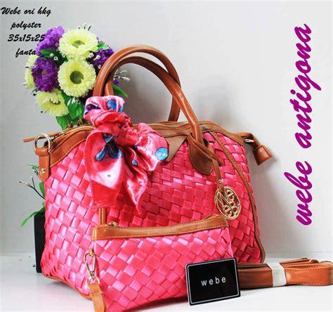 Tas Wanita Fashion Lv Pink Fanta tas webe antigona ori polyester fanta harga murah