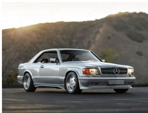 mercedes 560 sec 6 0 amg wide for sale