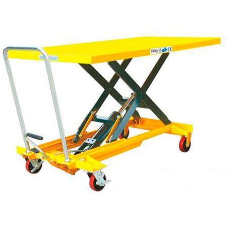 hydraulic scissor lift table hydraulic scissor lift table 500kg sptj500 171 forklifts