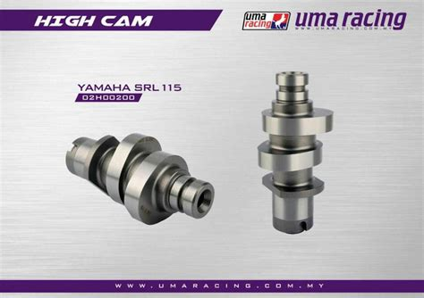 Spare Part Uma Racing palex motor parts camshaft uma racing yamaha srl115 fi