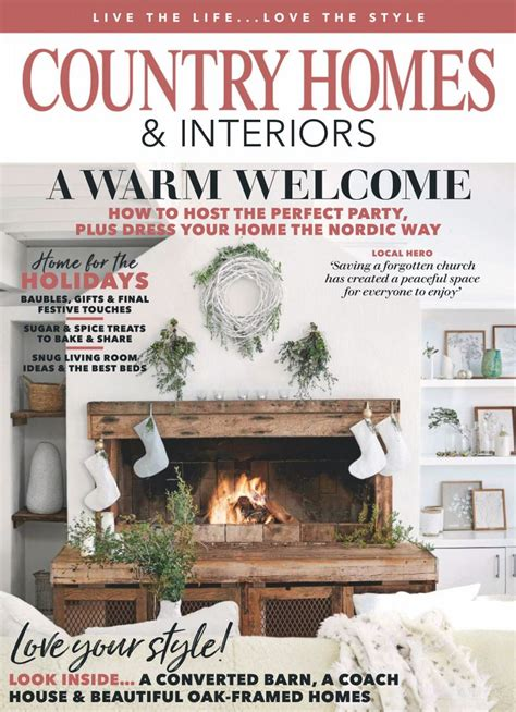 country homes interiors january