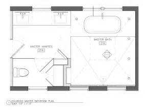 Master Bathroom Floor Plans The Bathroom Battles Cont Vicente Wolf