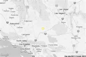 earthquake 3 3 quake rattles mojave desert latimes