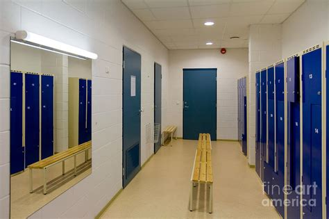 empty locker room empty locker room photograph by jaak nilson